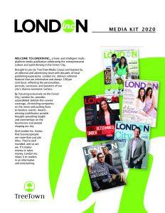 London Inc Magazine 2020 rate card